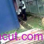 Teacher Caught Student Fucking Themselves Behind School Hall