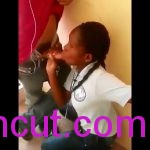 Video- Senior High School Girl Sucking Course mate Penis